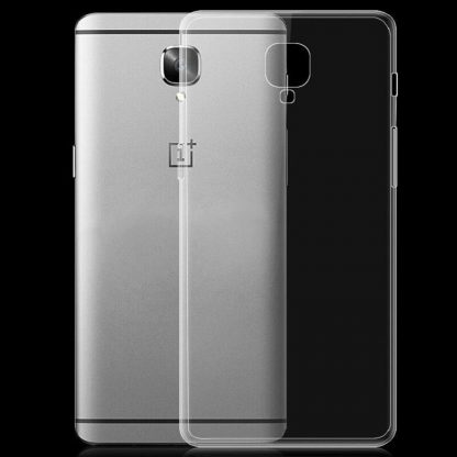 online retailer 73974 ca8ea For OnePlus 3 /1+3 Ultra Slim Crystal Clear Soft Silicone Gel TPU Case  Cover A